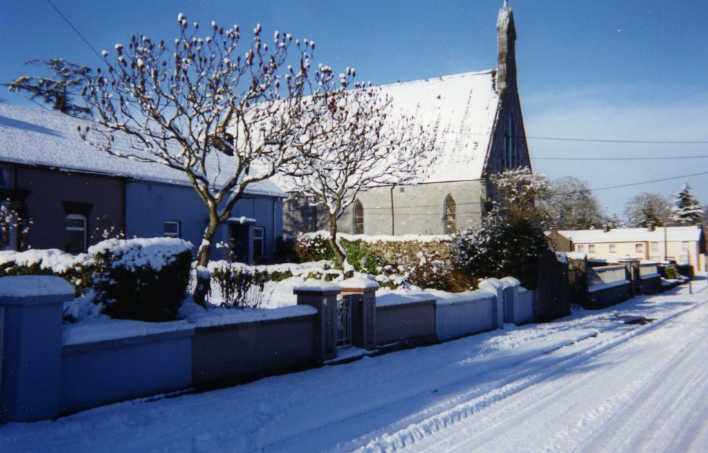 St Nicholas Church Churchtown Winter Scene